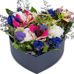 럭셔리하트꽃상자1