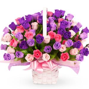 비누꽃♥바이올렛사랑(100송이)