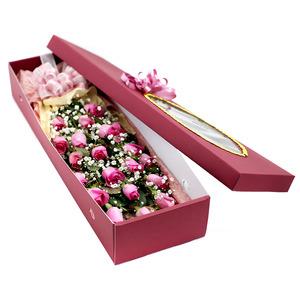 분홍장미꽃박스4호